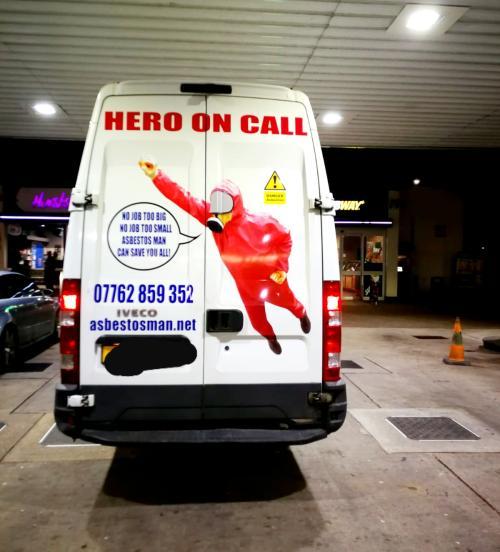 Asbestos Man Hero On Call